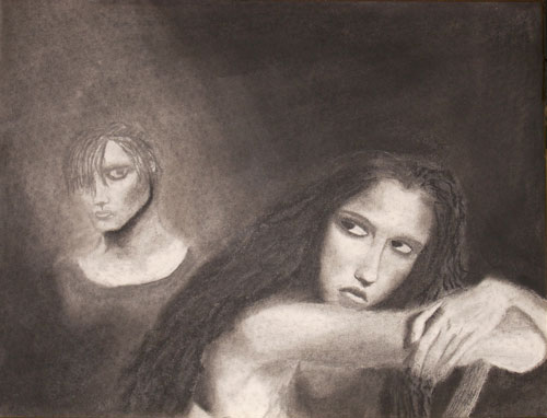Resentment (in charcoal)
